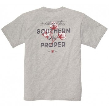Nothing Says Southern Tee- Heather Grey